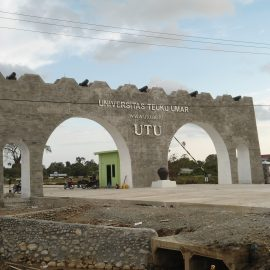 Pembangunan Pagar dan Gerbang Kampus