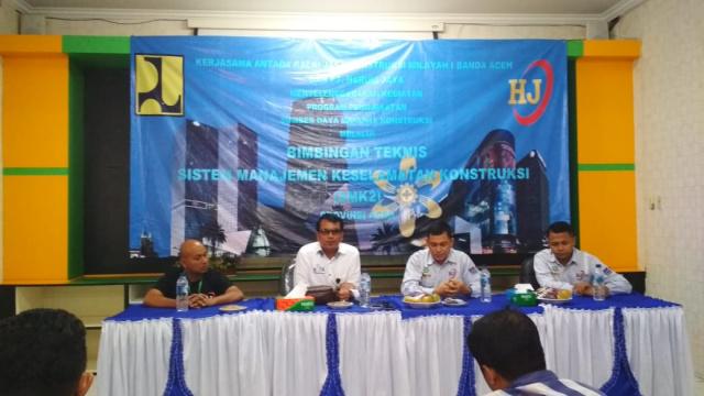 Baru 1.200 Tenaga Kerja Di Aceh Kantongi Sertifikat Kompetensi Kontruksi