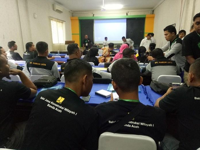 Harum Jaya Gelar Bimtek Sistem Manajemen Keselamatan Konstruksi