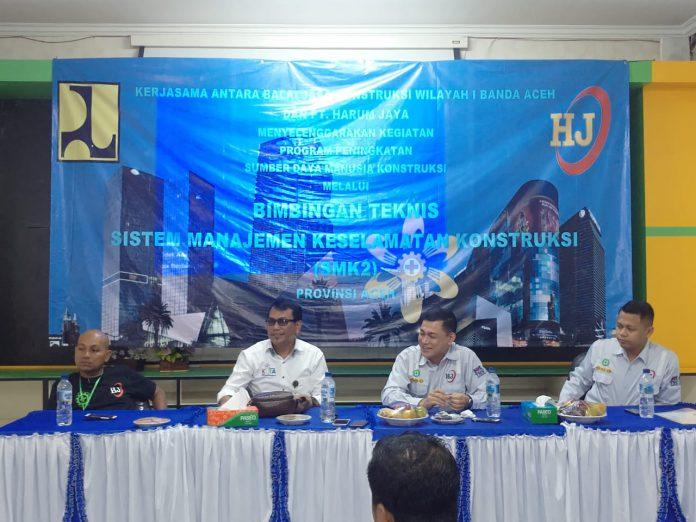 Baru 1.200 Tenaga Kerja Konstruksi yang Bersertifikat di Aceh