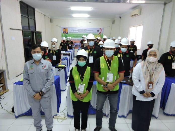 Tingkatkan SDM, 55 Pekerja Konstruksi di Aceh Mendapat Bimtek Keselamatan Kerja